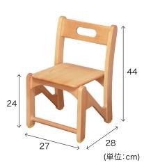 園児用椅子 HUGチェアーM