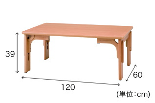 園児用テーブル HUGテーブルS2ロング